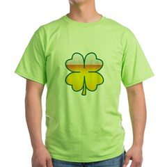 Beer Leaf Clover St. Patrick's Day Green T-Shirt