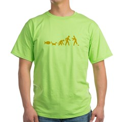 Darwin's Zed T (dark) Green T-Shirt
