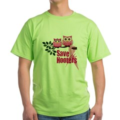 Hooters 2 Green T-Shirt