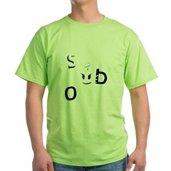 Sex Bob-omb Dark Shirt Green T-Shirt