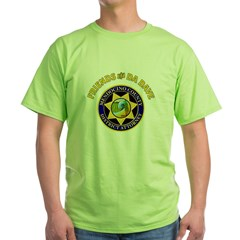 DA Dave seal (outlined).JPG Green T-Shirt