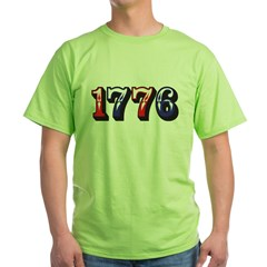 1776 dark Green T-Shirt