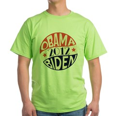 Vintage Obama Biden Green T-Shirt