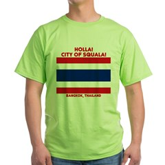 CIty of Squala Green T-Shirt