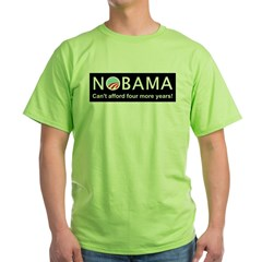 Nobama Green T-Shirt
