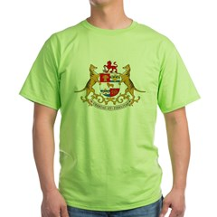 Tasmania Coat of Arms Green T-Shirt