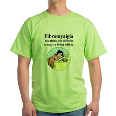Fibromyalgia-woman Green T-Shirt