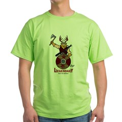 Legendary North-Man 2 Green T-Shirt
