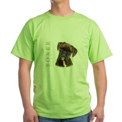 portrait6 Green T-Shirt