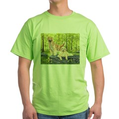 Golden Pair Green T-Shirt