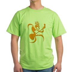 guitar_reg_orange.jpg Green T-Shirt