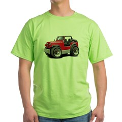 Jeep Red Green T-Shirt