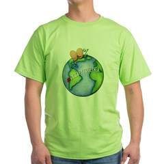 99% #OccupyTogether - Green T-Shirt