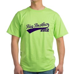 Big Brother 2012 Green T-Shirt