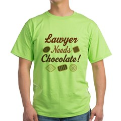 Lawyer Gift Funny Green T-Shirt