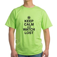 Keep Calm and Watch Los Green T-Shirt
