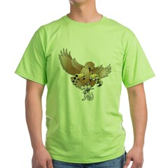 Next-to-the-Last Great Act of Defiance Green T-Shirt