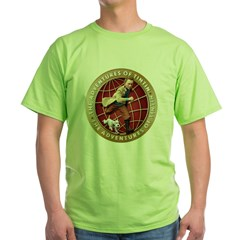 Adventures of Tintin Green T-Shirt