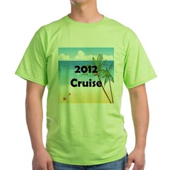 Cruise 2012 Green T-Shirt