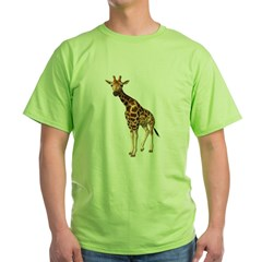 The Giraffe Green T-Shirt