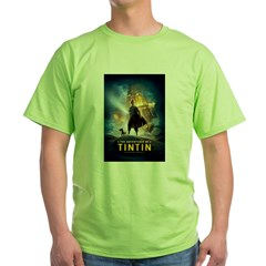 Tintin Movie Green T-Shirt