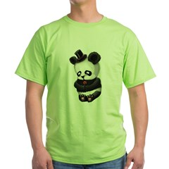 Sad Panda Green T-Shirt