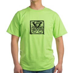 iaiaprintgritty Green T-Shirt