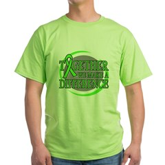 Non-Hodgkins Lymphoma Support Green T-Shirt
