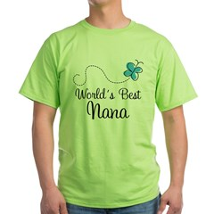 Nana (World's Best) Green T-Shirt