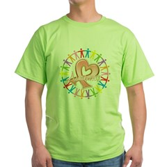 Uterine Cancer Unite in Awareness Green T-Shirt