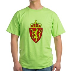 Norway Coat Of Arms Green T-Shirt