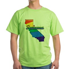 Paloma, California. Gay Pride Green T-Shirt