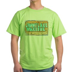 Snowflake Warrior Green T-Shirt