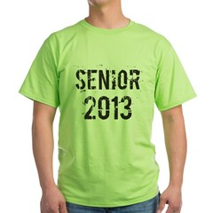 Grunge Senior 2013 Green T-Shirt