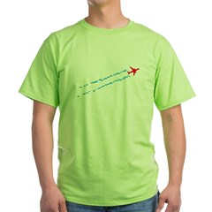Contrails Green T-Shirt