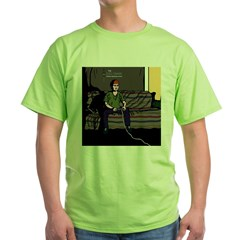 The RPG Fanatic T-Shirt Black Green T-Shirt