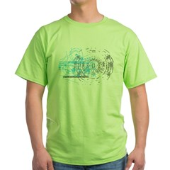 Particle Physics Gives Me A Large Hadron Green T-Shirt