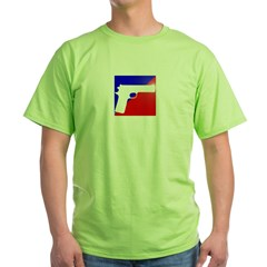 Call of Duty Emblem Gun Green T-Shirt