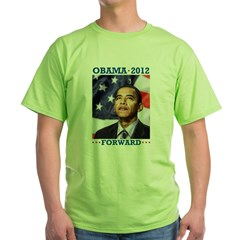 President Barack Obama Green T-Shirt