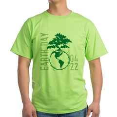 Earth Day 2012 Green T-Shirt