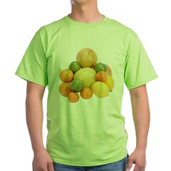 Some Citrus Fruit On Your Green T-Shirt