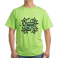 Special Ed Ash Grey Green T-Shirt