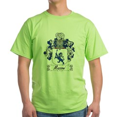 Mazzoni Family Cres Green T-Shirt