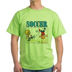 Soccer! Green T-Shirt