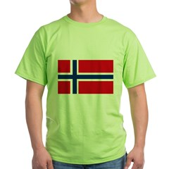 norway222 Green T-Shirt