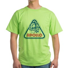 apollo_patch_lt_lg Green T-Shirt