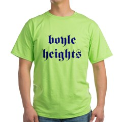 Boyle Heights Ash Grey Green T-Shirt