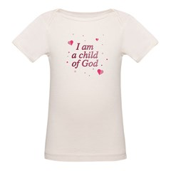 Child of God Infant Creeper Organic Baby T-Shirt