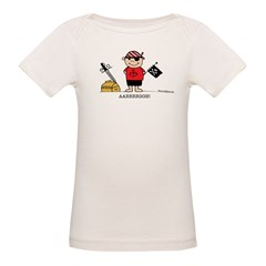 Pirate Boy 1 Organic Baby T-Shirt