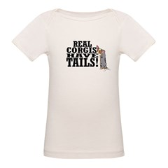 Real Corgis Organic Baby T-Shirt